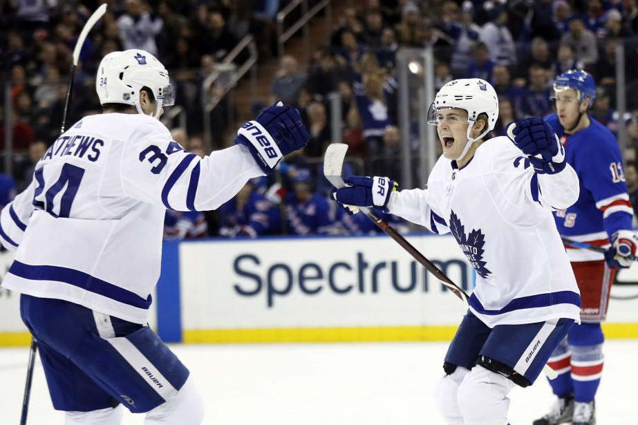 William Nylander et Auston Matthews.... (USA TODAY Sports)