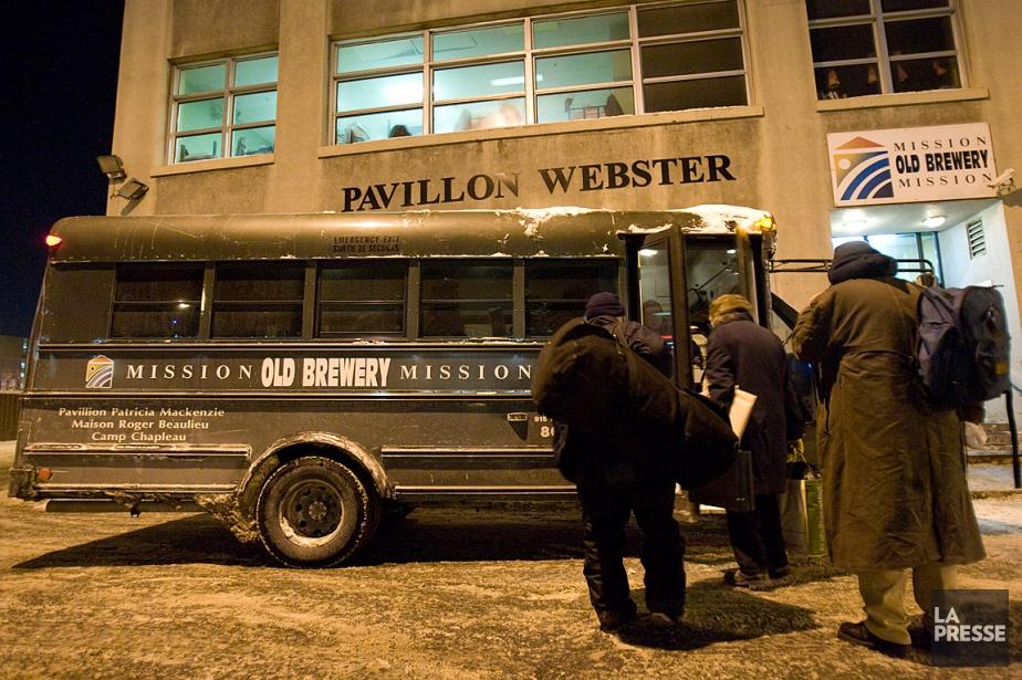 La Mission Old Brewery offre un service de... (PHOTO DAVID BOILY, ARCHIVES LA PRESSE)