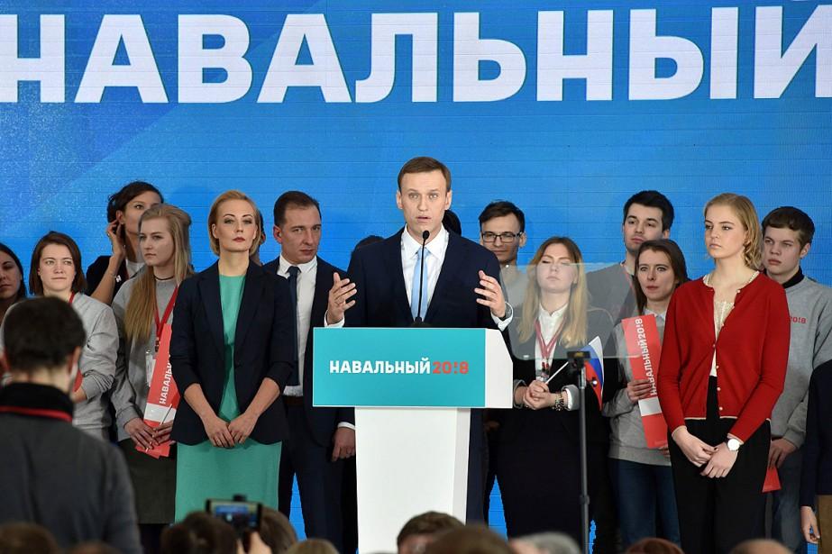 Des milliers de partisans de l'opposant russe, Alexeï... (PHOTO VASILY MAXIMOV, AGENCE FRANCE PRESSE)