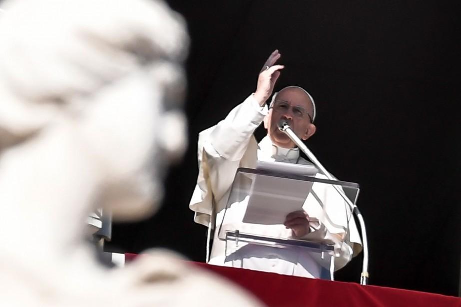 L'Argentin Jorge Bergoglio, lui même petit-fils de migrants... (AFP)