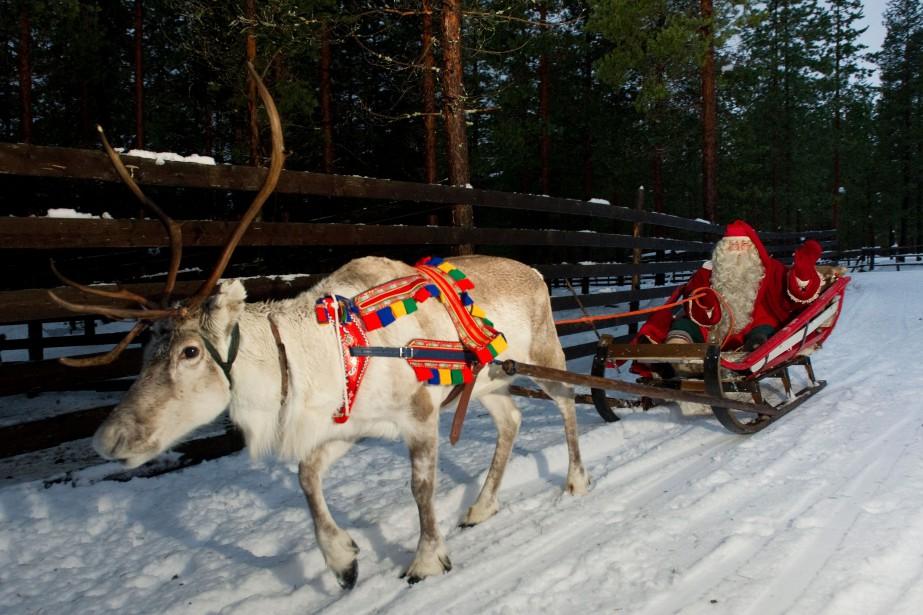 Parti de sa base du Pôle Nord, le... (AFP)