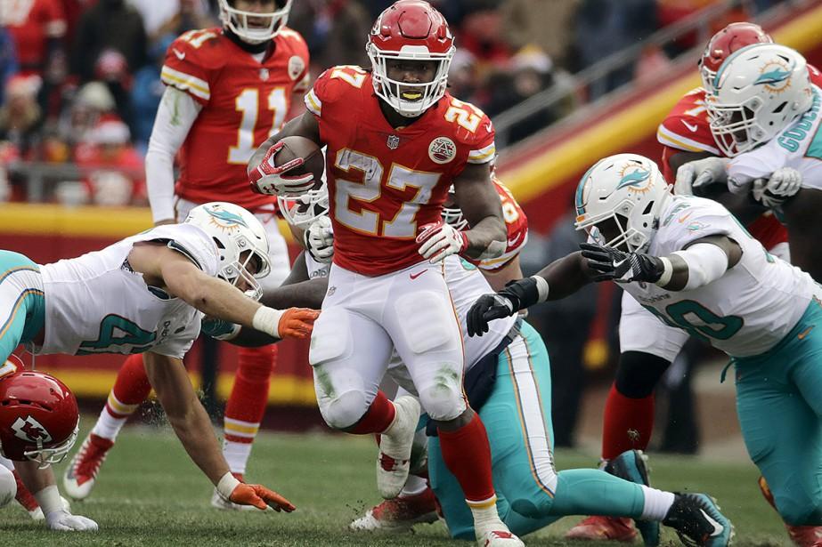 L'attaque des Chiefs a également été appuyée des... (Charlie Riedel, AP)