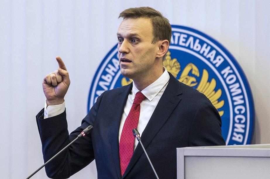 Considéré comme le principal opposant au président Vladimir... (Evgeny Feldman, Campagne Navalny via AP)