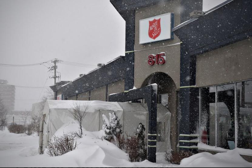 Le personnel de Québec de l'Armée du Salut a eu une bien... (Photo Le Soleil)