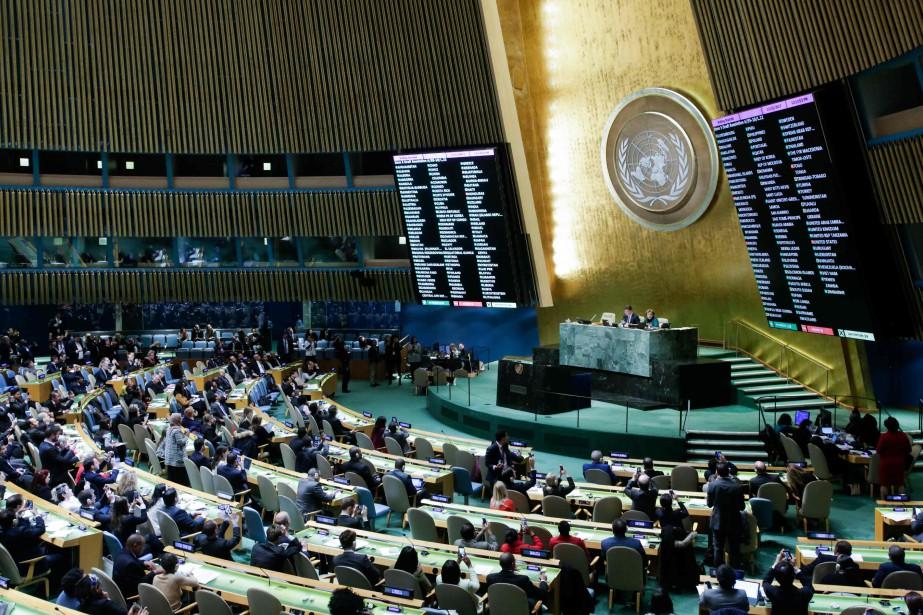 L'ambassadrice américaine aux Nations unies, Nikki Haley, a... (AFP)