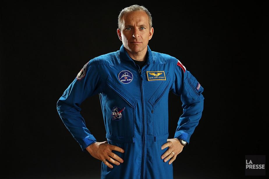 L'astronaute québécois David Saint-Jacques, photographié en mai2016.... (Photo Martin Chamberland, archives La Presse)