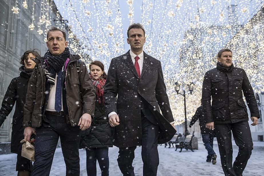 Le rejet de la candidature d'Alexeï Navalny est... (Evgeny Feldman, Navalny Campaign via AP)