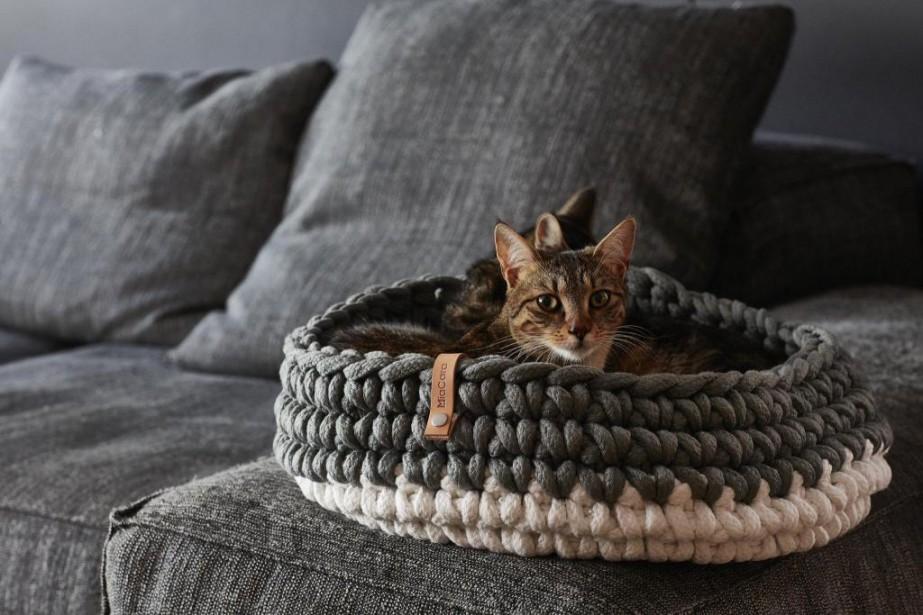Le panier à chat Nido de MiaCara, environ... (PHOTO FOURNIE PAR MIACARA)