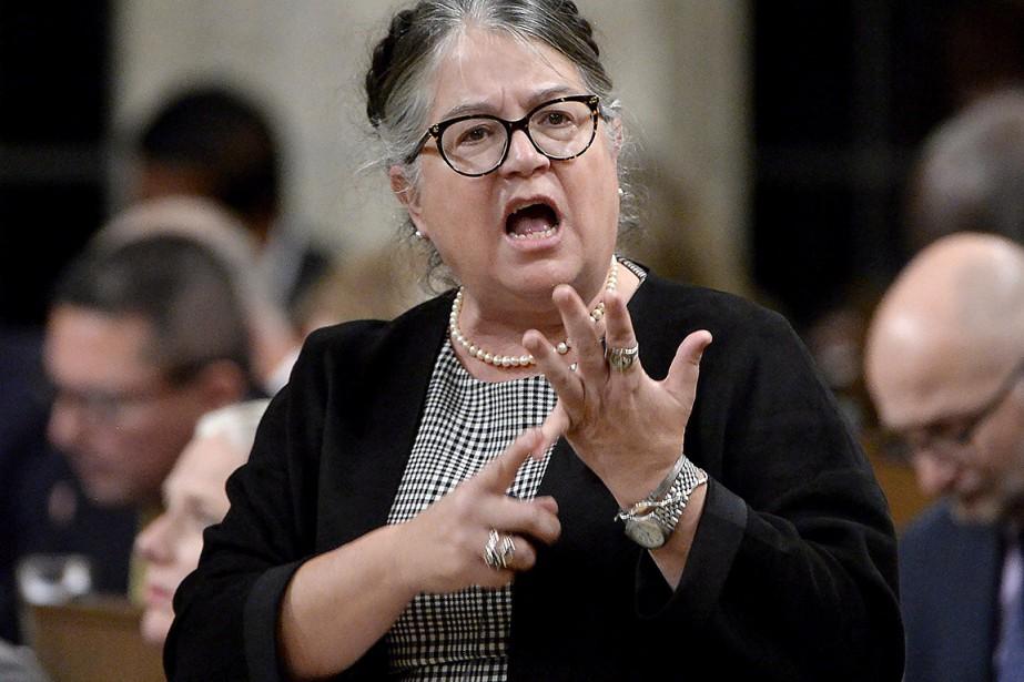 La ministre du Revenu national, Diane Lebouthillier.... (Adrian Wyld, archives PC)