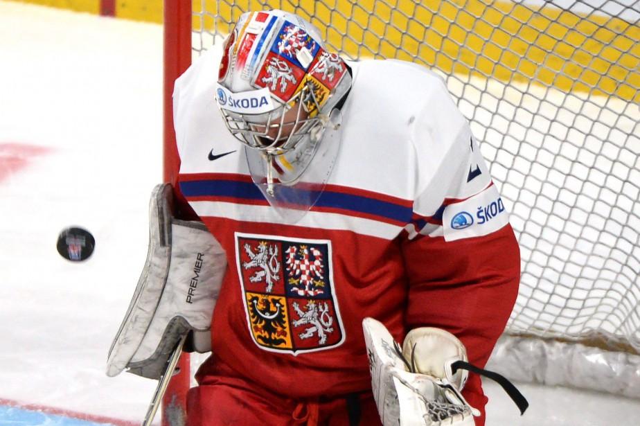 La République tchèque n'a pas atteint la ronde... (PHOTO ARCHIVES LA PRESSE CANADIENNE)