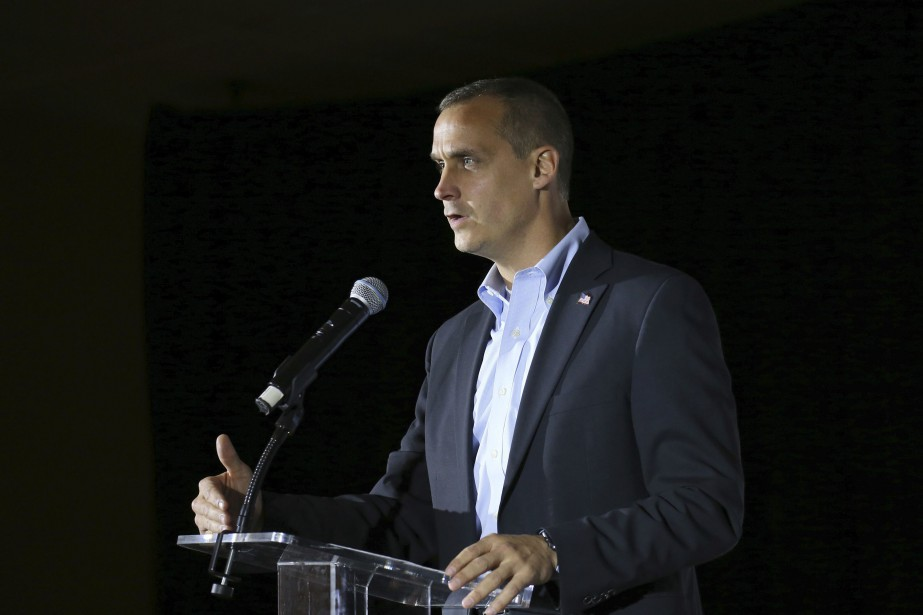 Corey Lewandowski avait été congédié par Donald Trump en... (PHOTO ARCHIVES AP)