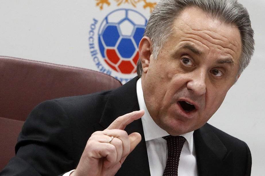 Le vice-premier ministre russe chargé des Sports, Vitali... (Sergei Karpukhin, REUTERS)