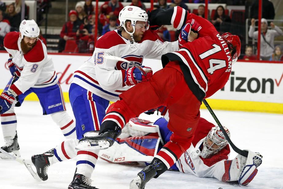 Relisez notre couverture en direct du match entre le Canadien et... (PHOTO AP)