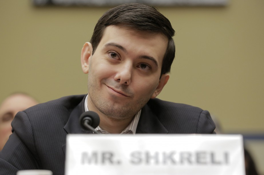Martin Shkreli s'était attiré la vindicte des médias... (ARCHIVES REUTERS)
