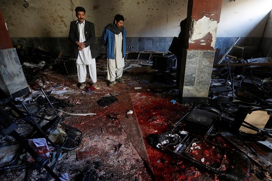 «Nous avons quarante morts, trente blessés, et ce... (Omar Sobhani, REUTERS)