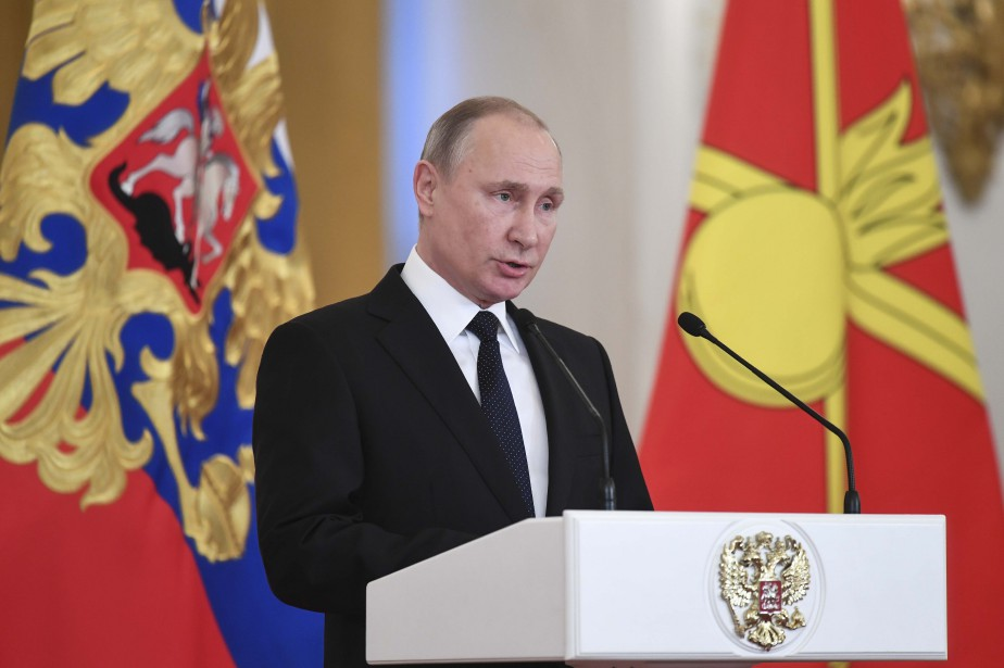 Le président russe Vladimir Poutine... (photo Kirill Kudryavtsev, REUTERS)