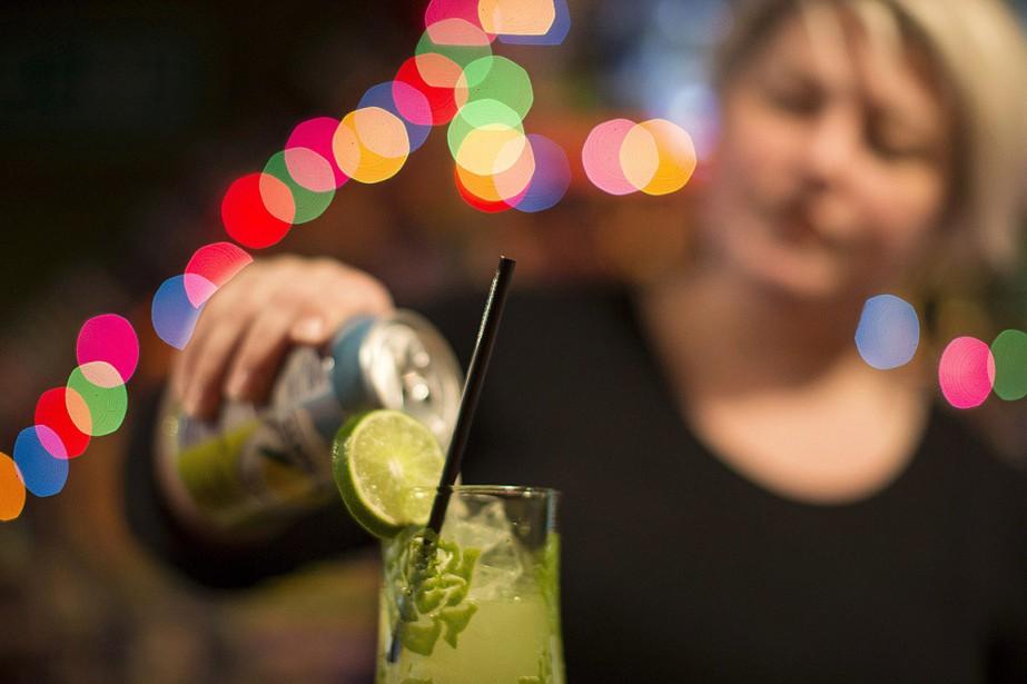 Rachel Conduit, propriétaire de deux bars à Toronto,... (Chris Young, archives PC)