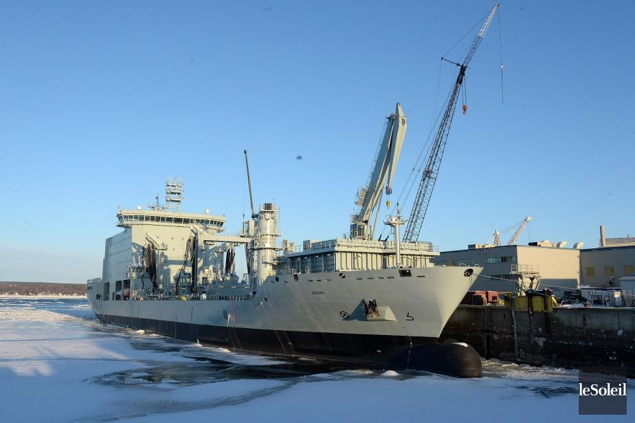 La Marine loue le navire du constructeur Federal... (Photo Erick Labbe, Le Soleil)