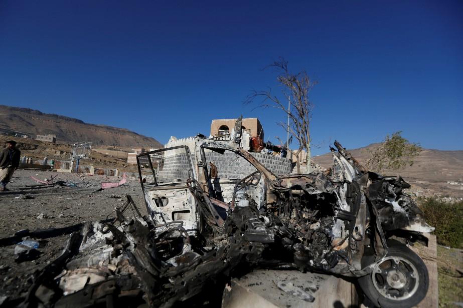 Outre les 68 civils tués mardi, 41 autres... (PHOTO Khaled Abdullah, REUTERS)