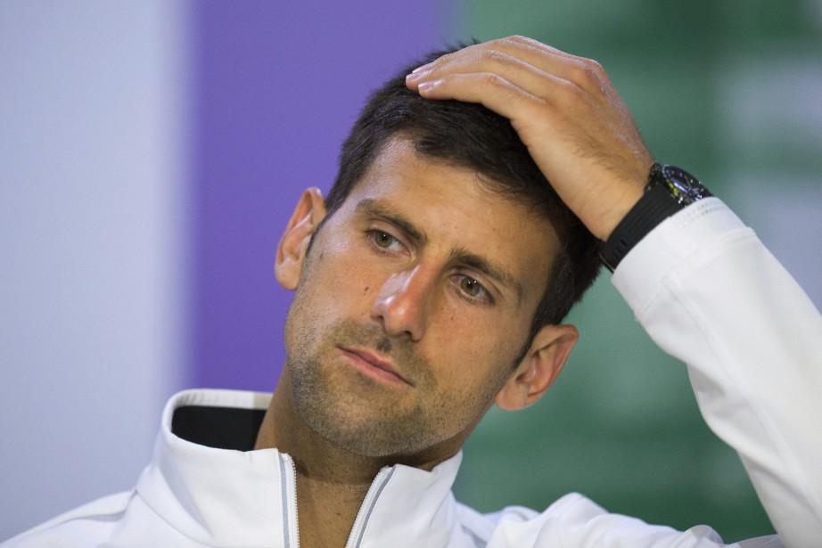 Novak Djokovic a déclaré qu'il avait « de... (Photo Joe Toth, AP)