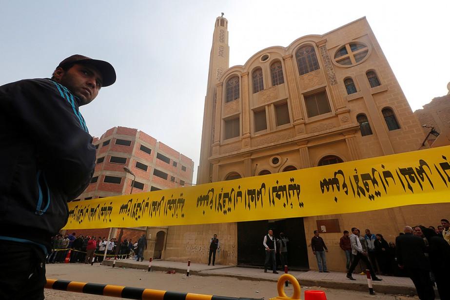 L'assaillant a ouvert le feu à l'extérieur de... (Amr Abdallah Dalsh, REUTERS)