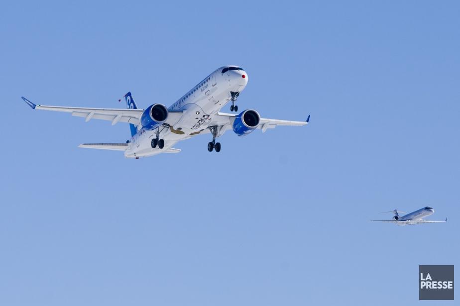 La portion ferme du contrat entre EgyptAir et... (Photo archives LA PRESSE)
