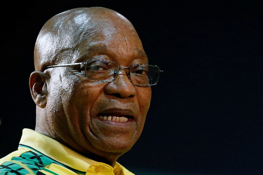 Le président Jacob Zuma.... (Siphiwe Sibeko, REUTERS)