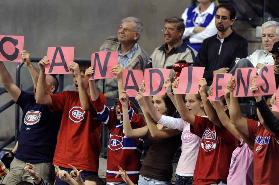 Les partisans du Canadien de Montréal sont nombreux... (Photo archives REUTERS)
