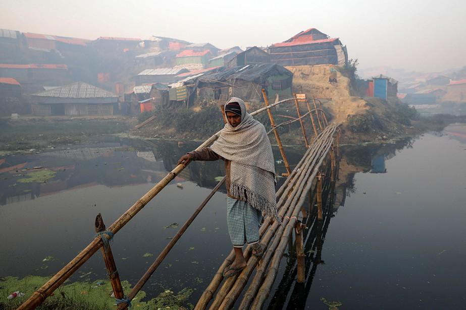 Plus de 655000 Rohingyas de l'État Rakhine en... (Marko Djurica, REUTERS)
