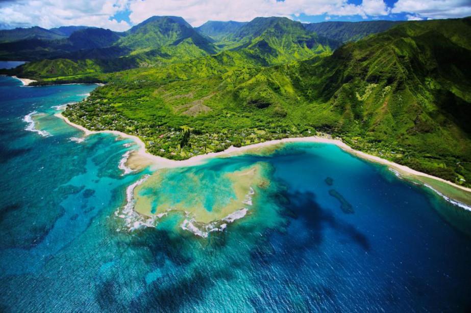 L'île de Kauai, à Hawaii, où devaient se... (Photo Thinkstock)