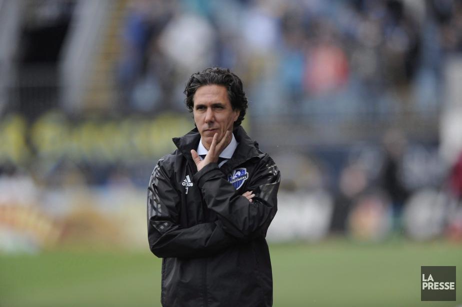 L'ancien entraîneur de l'Impact, Mauro Biello... (photo Michael Perez, archives la presse canadienne)