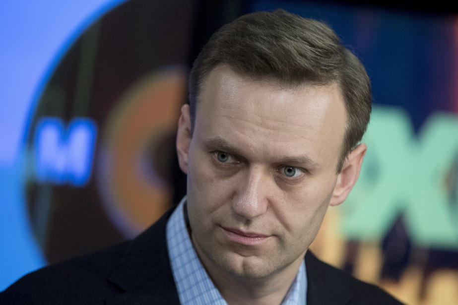 Alexei Navalny ne sera pas de l'élection présidentielle... (Photo Pavel Golovkin, AP)