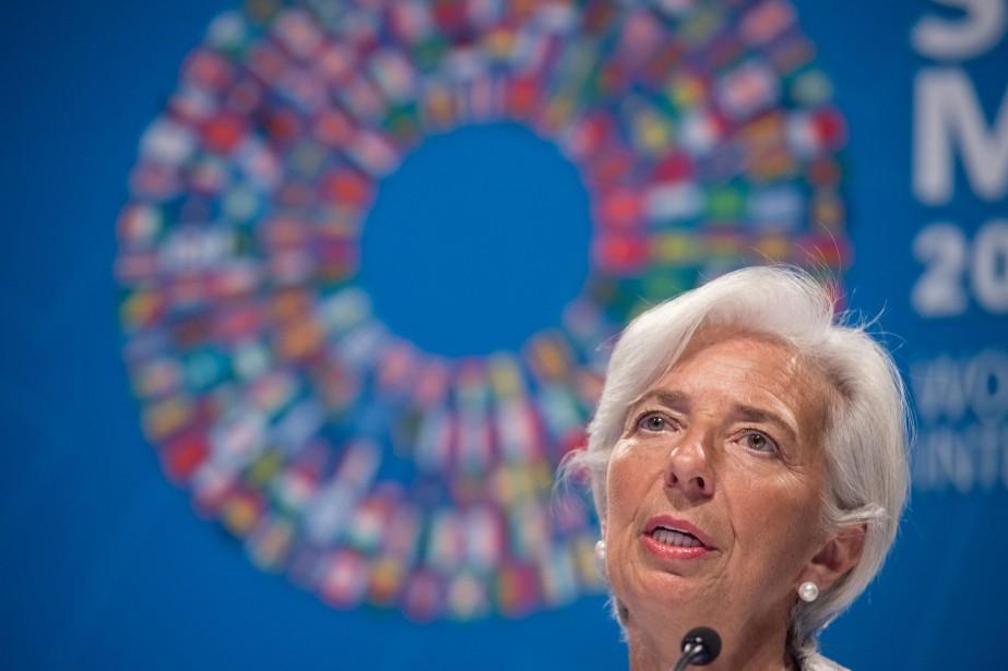La directrice générale du Fonds monétaire international (FMI),... (AFP)