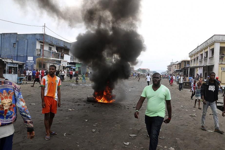 Les forces de sécurité congolaises ont réprimé des... (John Bompengo, AP)