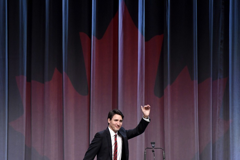 Justin Trudeau... (Photo La Presse canadienne)