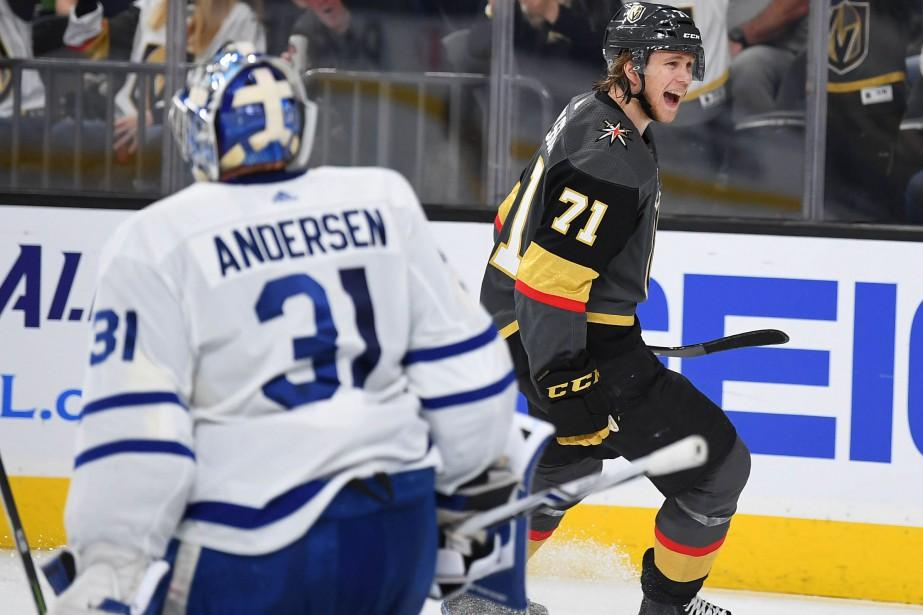 William Karlsson a signé un tour du chapeau.... (USA TODAY Sports)