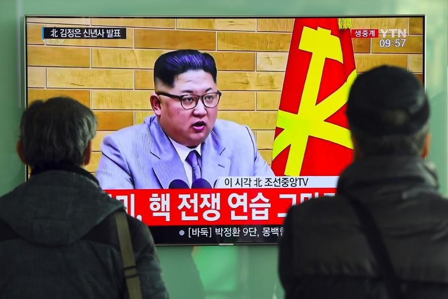«Le bouton nucléaire est toujours sur mon bureau.... (AFP)