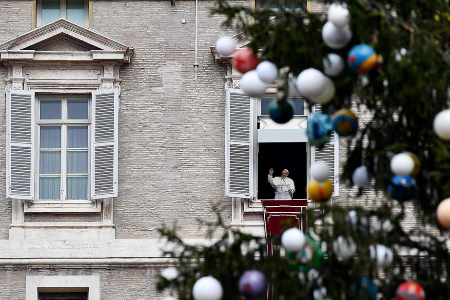 Le papea recommandé de prendre un moment de... (Vincenzo PINTO, AFP)