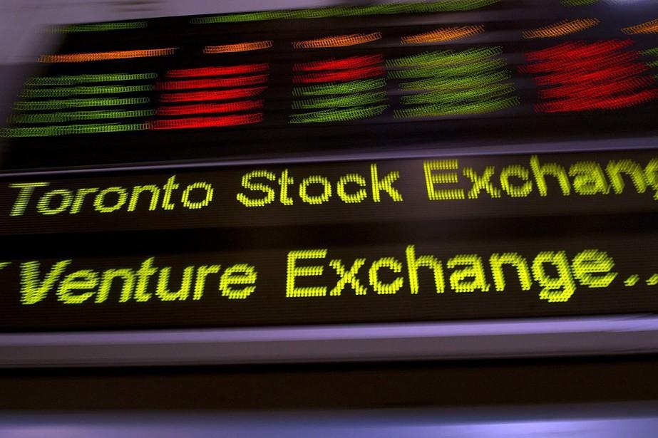 L'indice composé S&P/TSX du parquet torontois.... (Frank Gunn, PC)