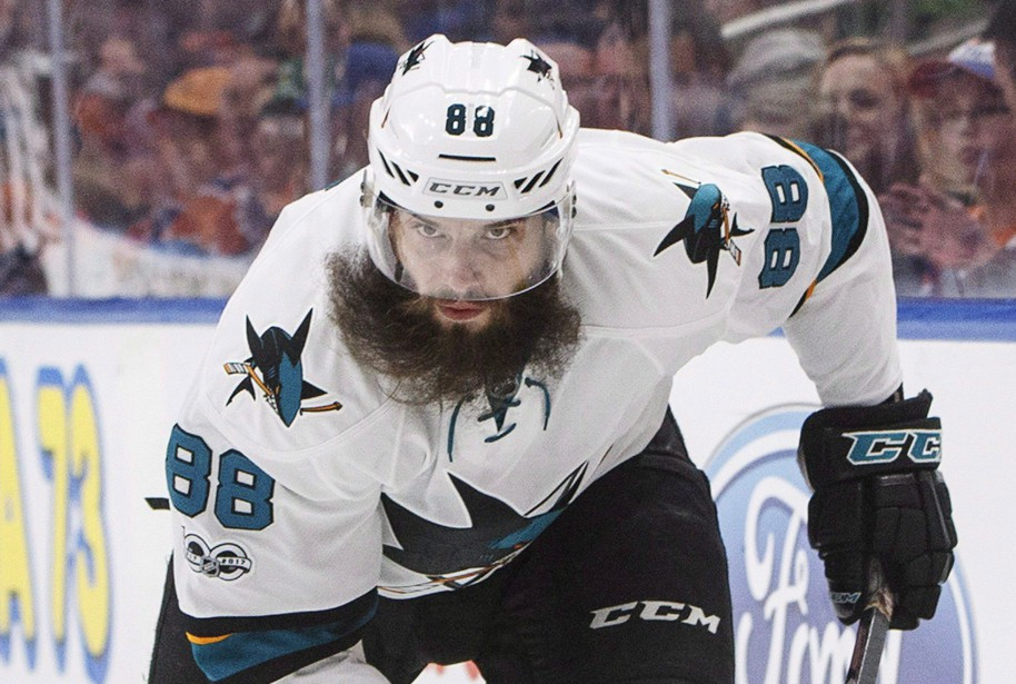 Le défenseur Brent Burns, des Sharks de San Jose, a... | 2018-01-02 00:00:00.000