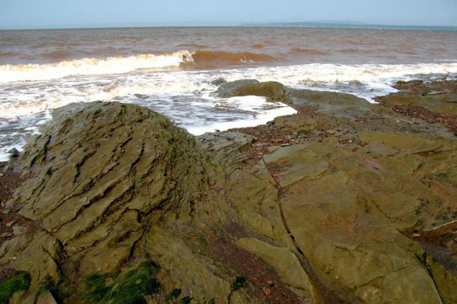 L'isthme de Chignectou sépare la baie de Chignectou... (Photo tirée de Wikimedia Commons)