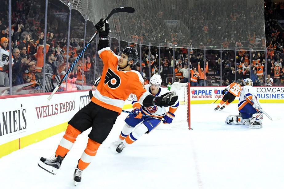 Ivan Provorov a récolté deux buts et une mention d'assistance... (PHOTO REUTERS)