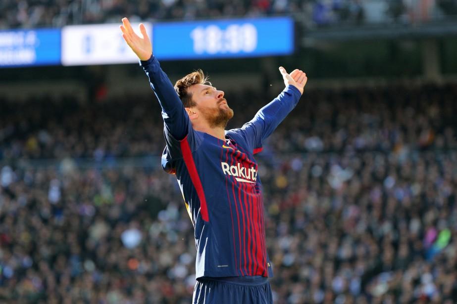 Lionel Messi... (REUTERS)