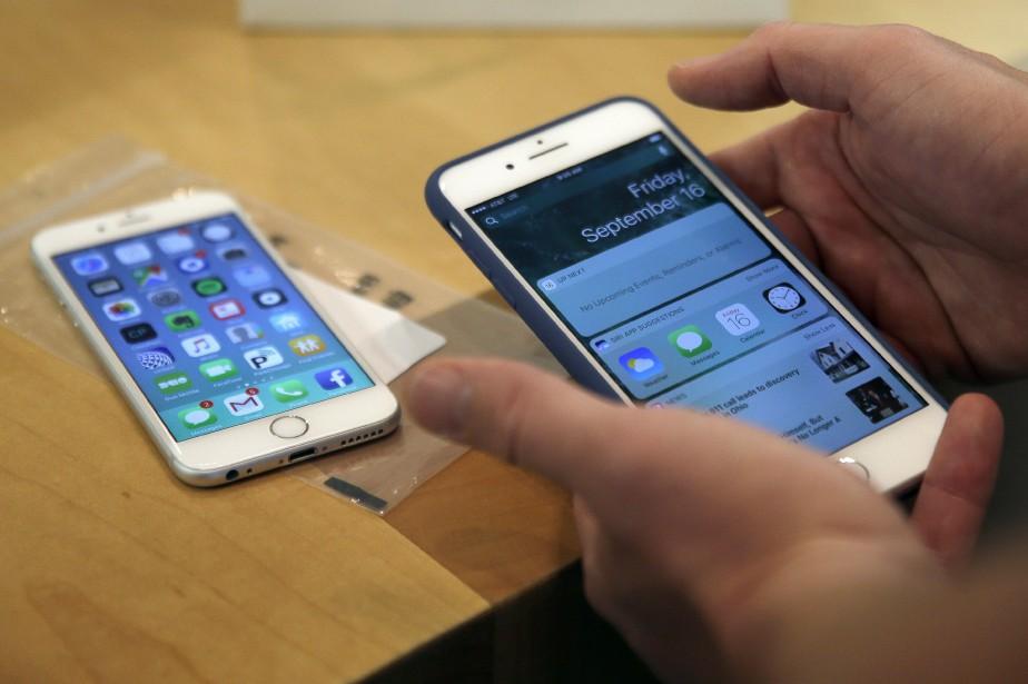 «Tous les systèmes Mac et appareils (mobiles) iOS... (AP)