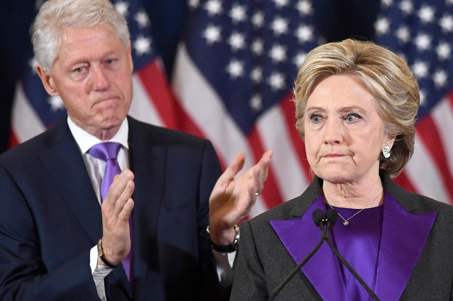 Bill et Hillary Clinton... (Photo Jewel Samad, archives AFP)