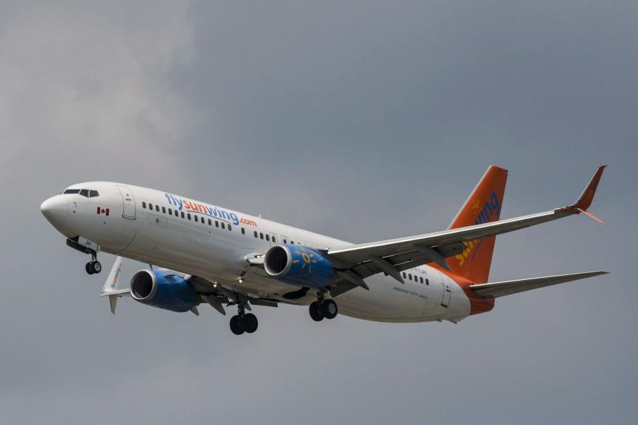 WestJet a indiqué que l'un de ses appareils... (Photo archives La Presse Canadienne)