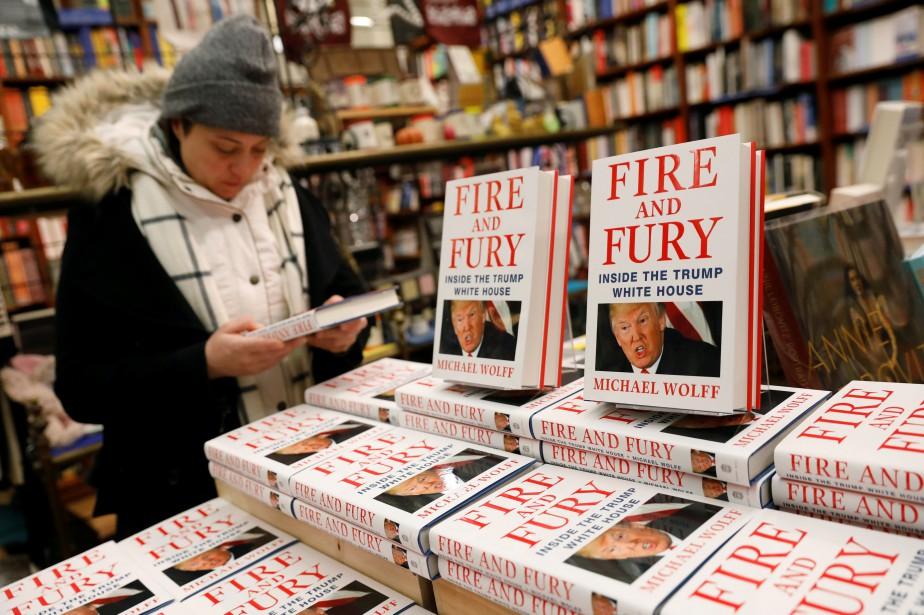 Le livreFire and Furyest déjà au sommet du... (Photo Shannon Stapleton, REUTERS)