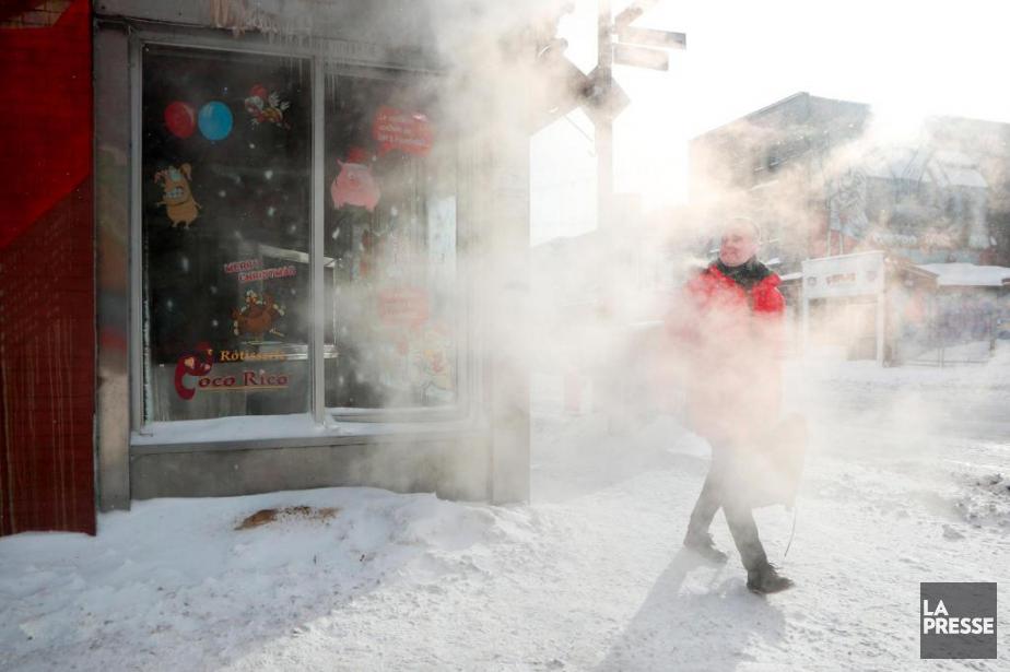 Après le froid polaire, un... (PHOTO MARTIN CHAMBERLAND, archives LA PRESSE)