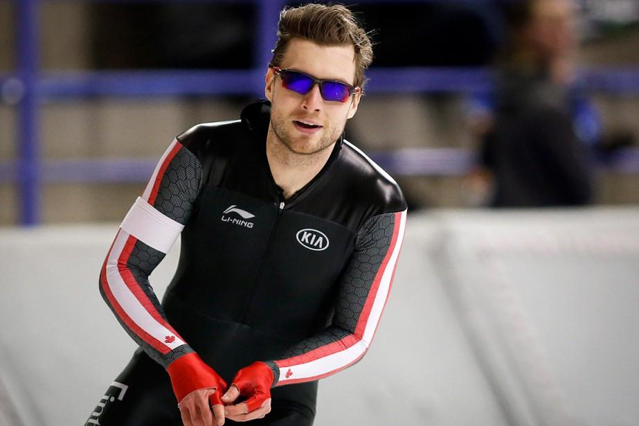 Laurent Dubreuil fera partie de l'équipe canadienne en... (PHOTO JEFF MCINTOSH, LA PRESSE CANADIENNE)