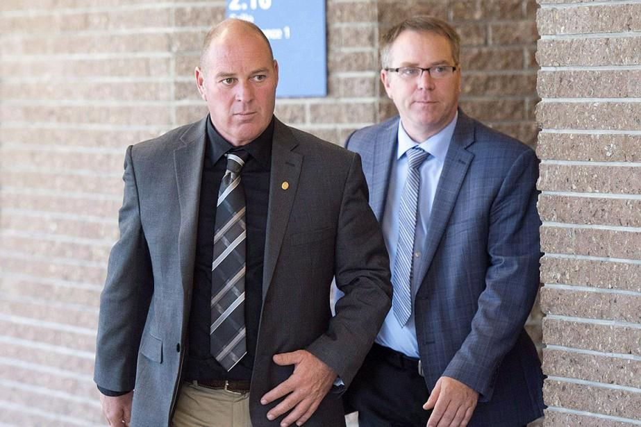 Thomas Harding (à gauche sur la photo), Richard... (Ryan Remiorz, archives PC)
